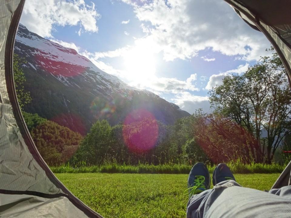Vinje Camping Geiranger