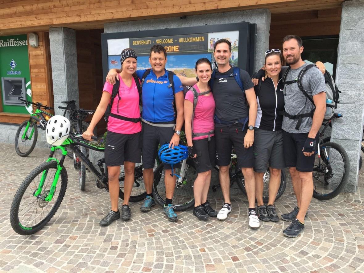 MTB-Trip Dolomiten / Die Gang