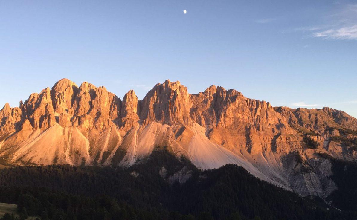 MTB-Trip Dolomiten / Sundowner