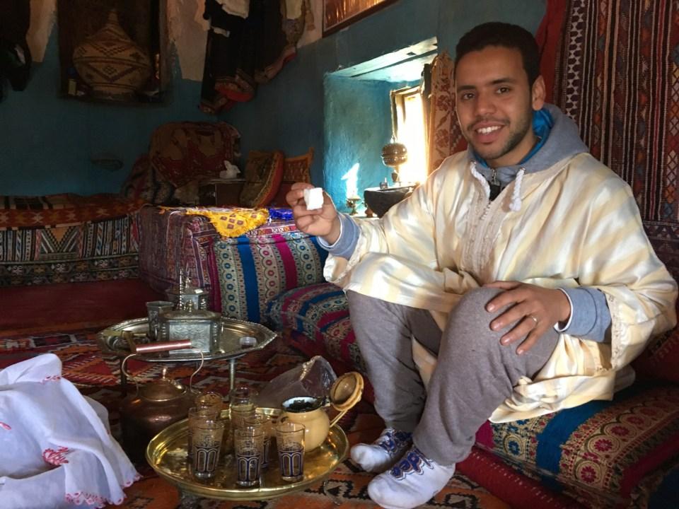 Tee ist ein Fixstarter im marokkanischen Alltag