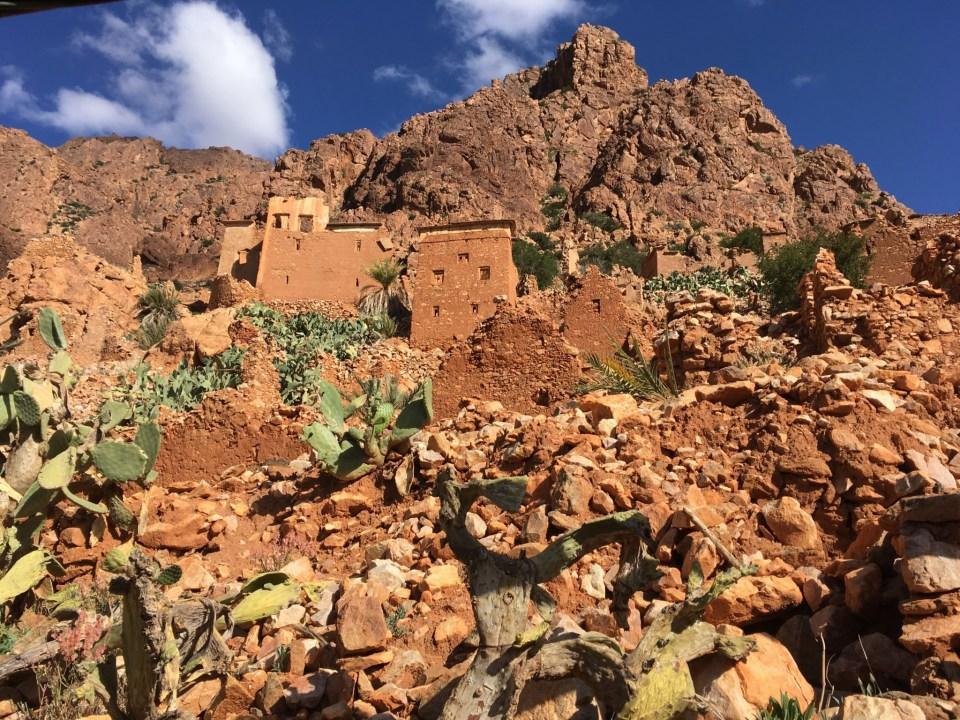 Eine verlassene Berbersiedlung