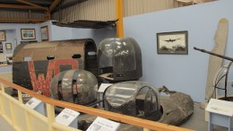 Assorted parts and turrets from British Bomber Aircraft of WWII