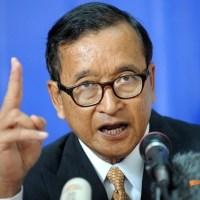 Kẻ tâm thần hoang tưởng mang tên Sam Rainsy