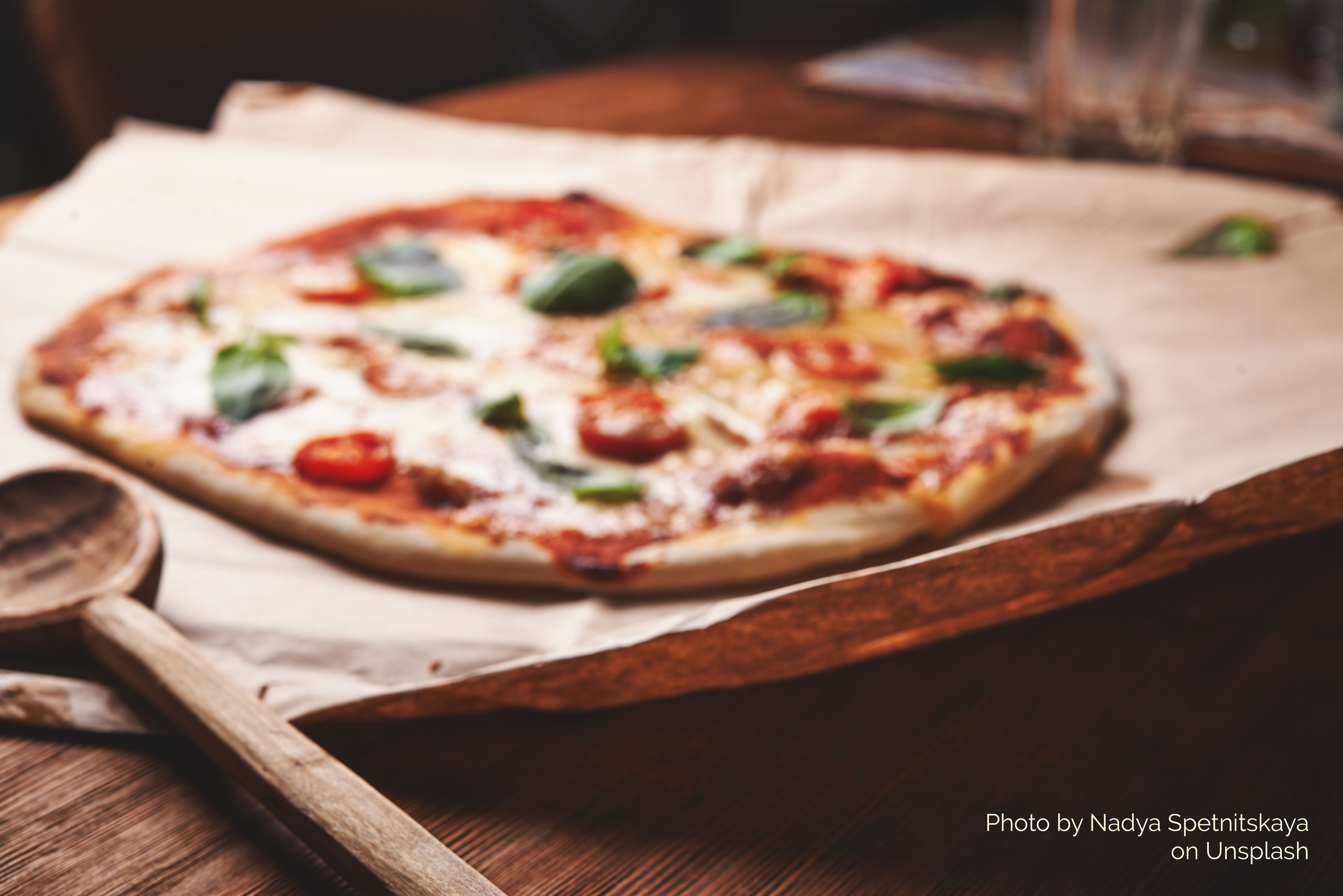 Chef-made pizza