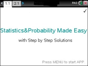 Step by step statistics app for the ti nspire cx available now spmetns urtaz Image collections