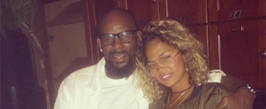 RnB singer R Kelly finds love with a 19 year old model!