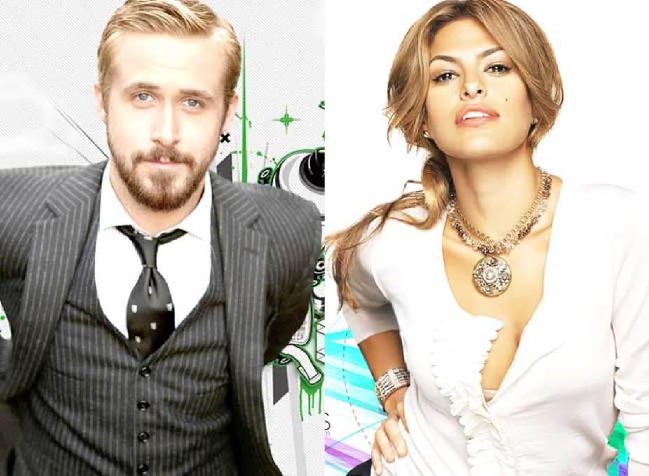 Ryan Gosling & Eva Mendes make it official!