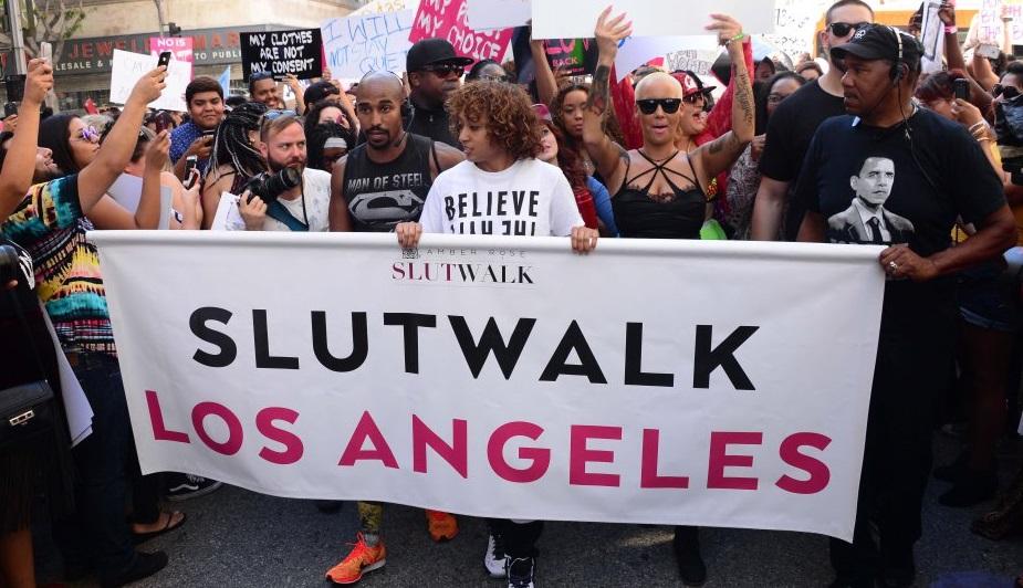 Amber's Slut Walk 2016...