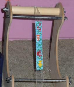 Using my Ultimate Bead Loom