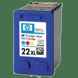 tinteiro-vazio-hp-22XL-tricolor