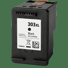 tinteiro vazio HP T6N04AE 303303XL Preto Reciclado