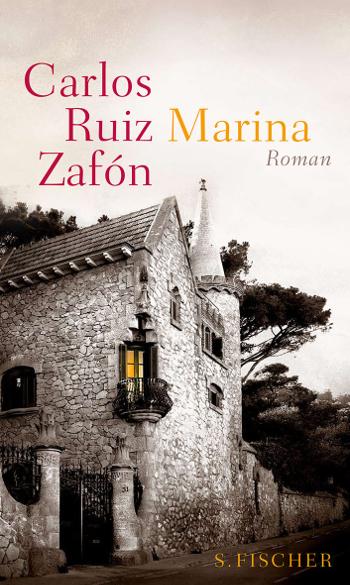 Cover Carlos Ruiz Zafón Marina