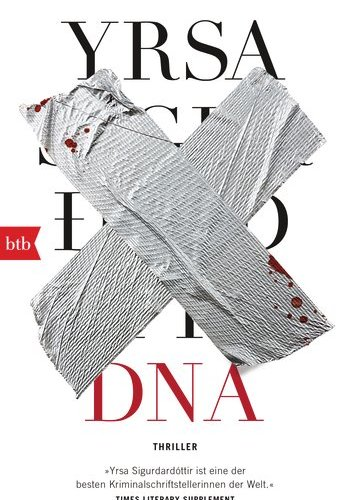 Cover DNA Yrsa Sigurdardottir