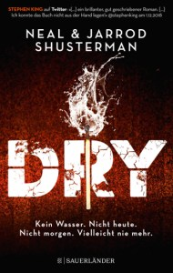 Cover Neil Shusterman Dry