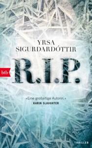 Cover Yrsa Sigurdardóttir R.I.P.