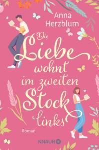 """Cover """"Die Liebe wohnt im zweiten Stock links"""" - Anna Herzblum"""