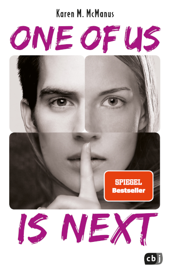 Cover Karen M. McManus: One of us is next