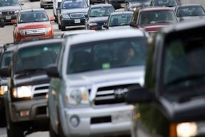 Holiday Travelers Experience Heavy Traffic And High Gas Prices