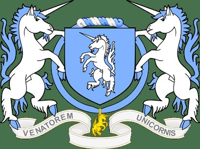 Armoiries de l'Ordre de la Licorne dorée