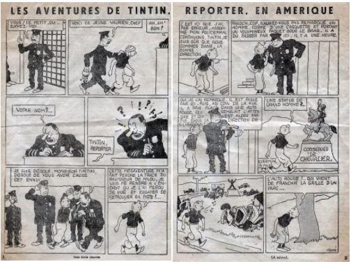 PETIT VINGTIÈME AMÉRIQUE (1932)