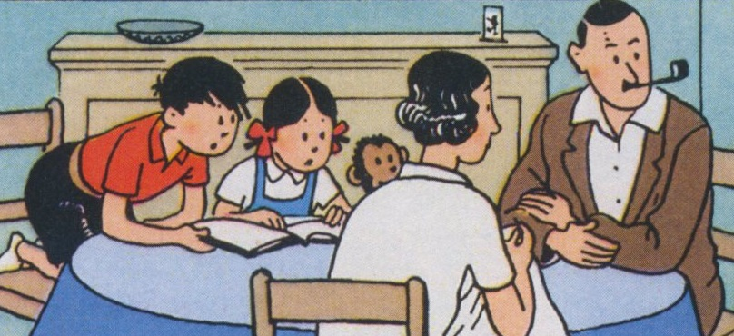 3e5d8936265a Les aventures de Jo, Zette et Jocko, à l inverse des autres séries  réalisées par Hergé, ne tirent pas leur origine d une initiative  personnelle du ...