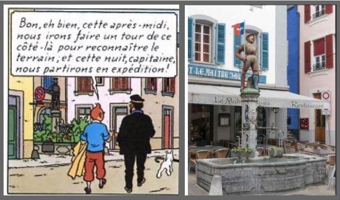 AFFAIRE TOURNESOL : LA STATUE DE MAÎTRE JACQUES