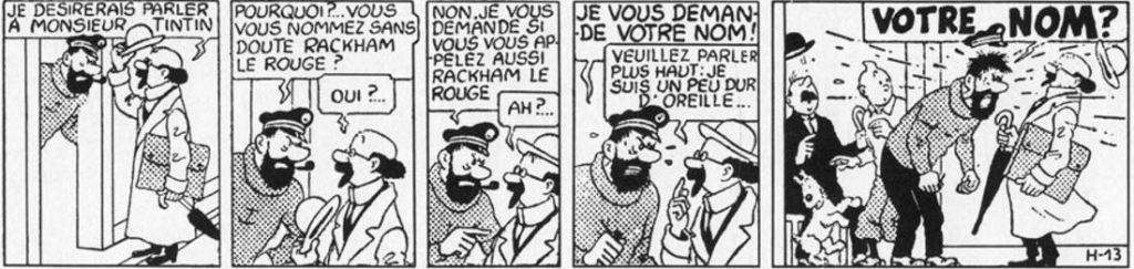 LA PREMIÈRE APPARITION DU PROFESSEUR TOURNESOL