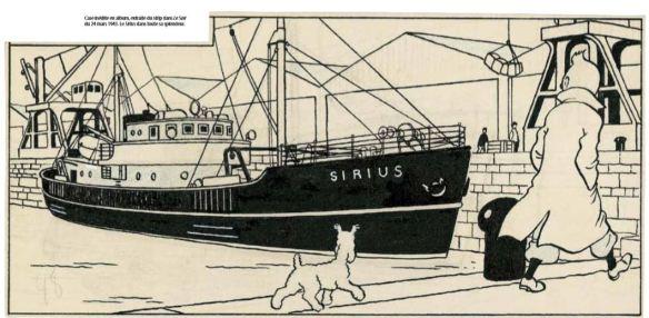 Le Sirius Sa Veritable Histoire Tintinomania