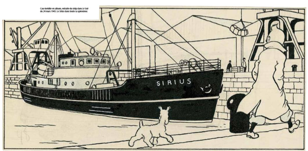 LE SIRIUS de TINTIN en partie en scratch au 1/48eme - Page 2 Visuel-Sirius-Le-Soir