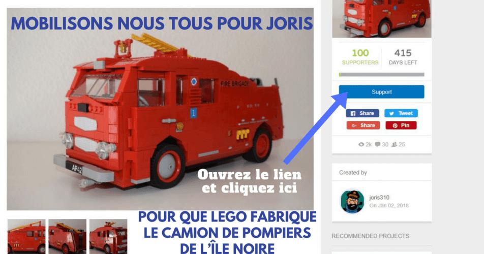MOBILISONS-NOUS POUR QUE LEGO COMMERCIALISE LE CAMION DE POMPIERS