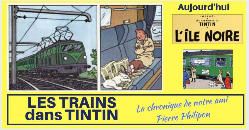 LES TRAINS DANS LES ALBUMS : L'ÎLE NOIRE