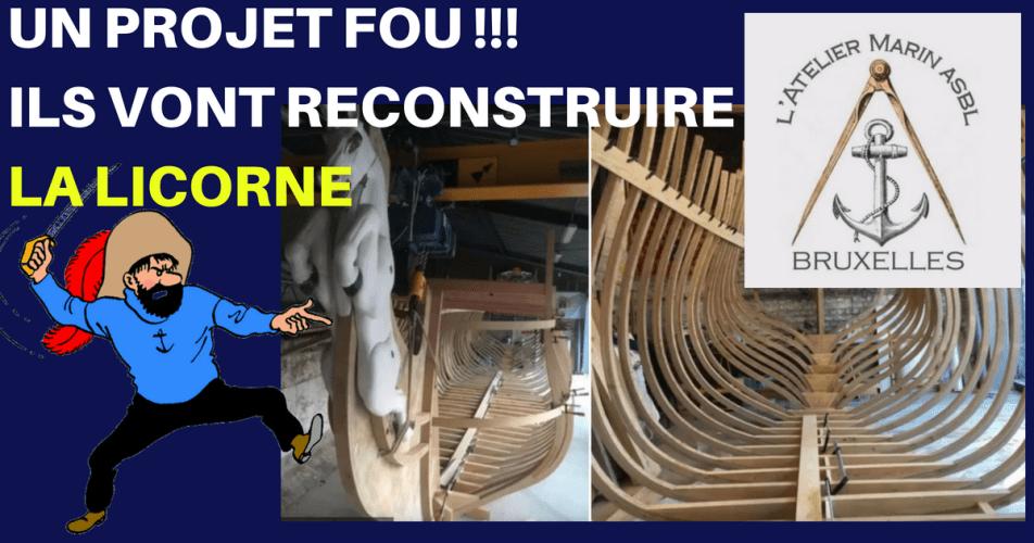 VIDÉO : DES PASSIONNÉS BELGES RECONSTRUISENT LA LICORNE