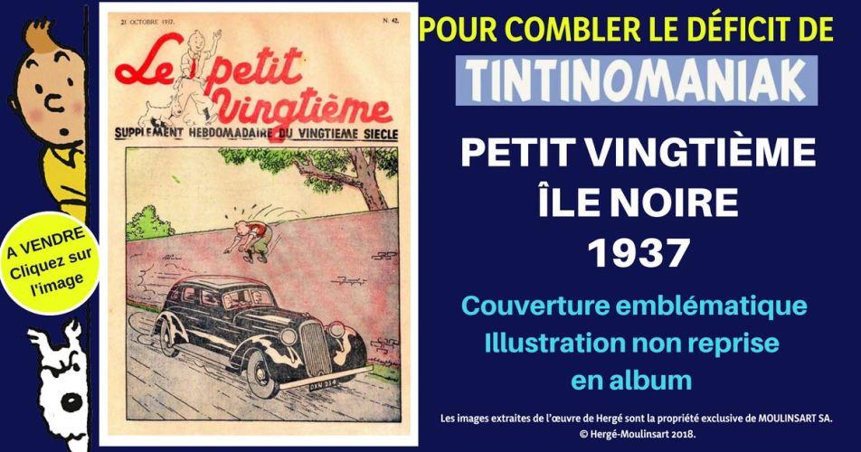 FASCICULE PETIT VINGTIÈME ÎLE NOIRE (1937)