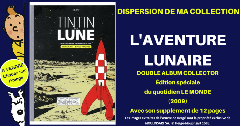 DOUBLE ALBUM COLLECTOR AVENTURE LUNAIRE (2009)