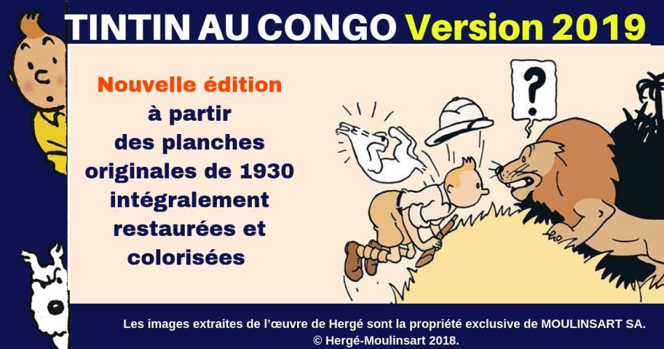 VIDÉO SPÉCIAL ANNIVERSAIRE 90 ANS : UN NOUVEAU TINTIN AU CONGO