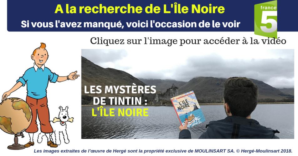 REPLAY : À LA RECHERCHE DE L'ÎLE NOIRE