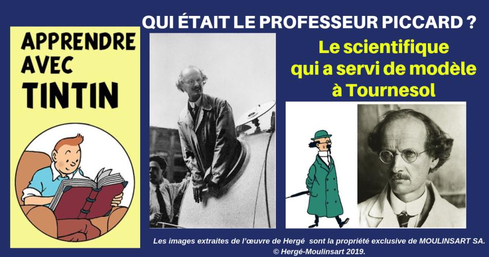 """""""TOURNESOL ET SON SOUS-MARIN, C'ÉTAIT PICCARD ET SON BATHYSCAPHE"""" (Hergé)"""