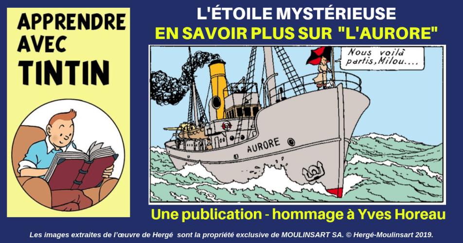 YVES HOREAU NOUS FAIT DÉCOUVRIR L'AURORE DE L'ÉTOILE MYSTÉRIEUSE