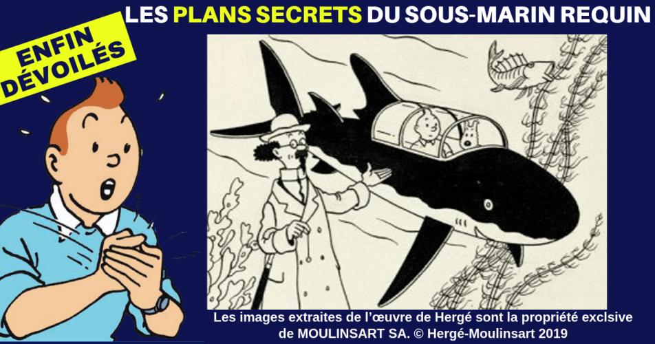 RÉVÉLATION : LES PLANS DU SOUS-MARIN DU PROFESSEUR TOURNESOL