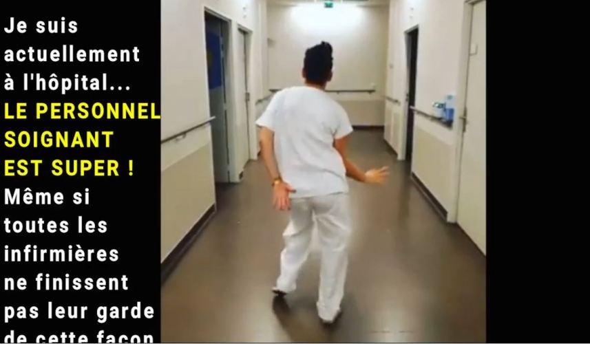 DES NOUVELLES DE L'HÔPITAL.. (VIDÉO)