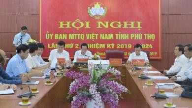 Hội nghị Ủy ban MTTQ Việt Nam tỉnh lần thứ 2, nhiệm kỳ 2019-2024
