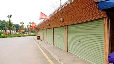 Tạm dừng các hoạt động kinh doanh, dịch vụ tại Đền Hùng