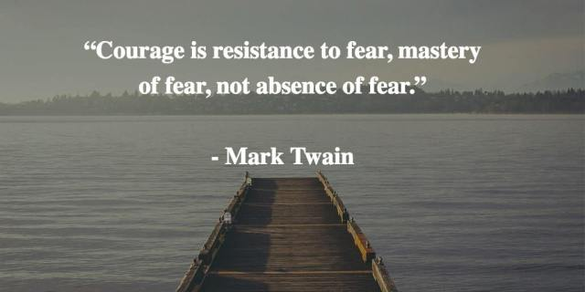 Mark Twain on courage