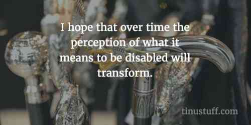 let's transform how disability is perceived
