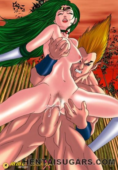 Blazing hentai stunner getting smooth-shaven labia bashed by an meaty penis