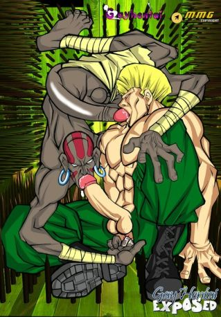 Cute blue haired anime porn homosexual railing a monster spunk-pump outside