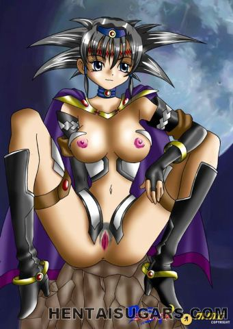 Ultra super-sexy anime pornography vixens taunting us with their wonderful tights