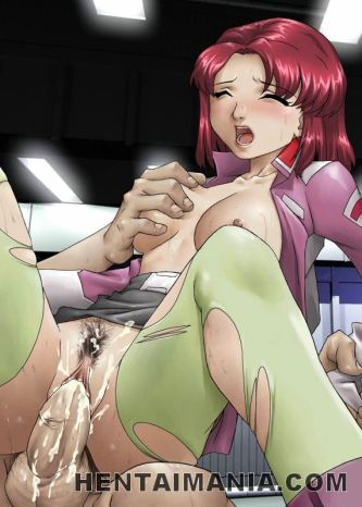 Fresh manga pornography stunner getting huge orbs plastered with warm cum