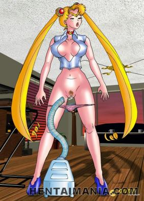Smasher blonde anime pornography supersluts showing their awesome figure