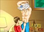 Cartoon gay sixty-nining